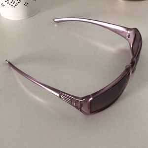 Gucci purple sunglasses
